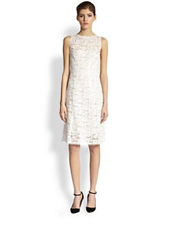 Nina Ricci - Lace Illusion Dress