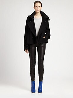 Maison Martin Margiela - Wool Funnel Neck Jacket