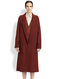 Maison Martin Margiela - Firebrick Overcoat