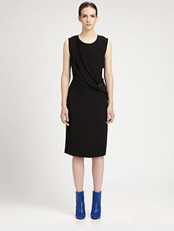 Maison Martin Margiela - Sheer Back Drape Dress