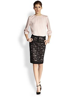 Nina Ricci - Gathered Blouse