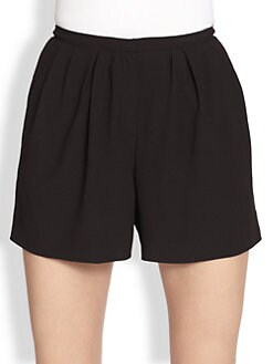 Nina Ricci - Pleated Shorts