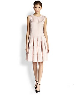 Nina Ricci - Tiered-Skirt Dress