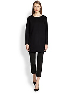 Rochas - Textured Oversized Top