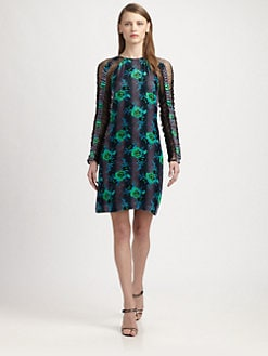 Christopher Kane - Velvet Flower Dress