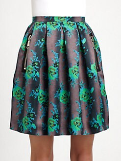 Christopher Kane - Floral Print Princess Skirt