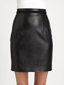 Christopher Kane - Leather Skirt