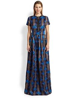 Christopher Kane - Floral Princess Maxi Dress