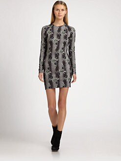 Christopher Kane - Bouquet Print Stretch Dress