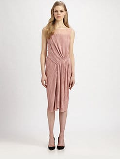 Nina Ricci - Pleated Drape Dress