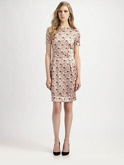 Nina Ricci - Silk Floral Dress