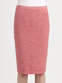Nina Ricci - Tweed Pencil Skirt