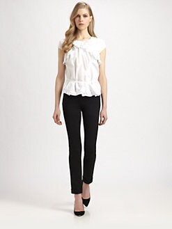 Nina Ricci - Cotton Poplin Top