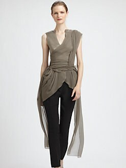 Vionnet - Draped Silk Top