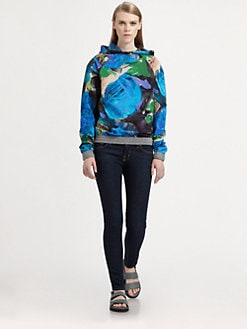 Christopher Kane - Flower Hoodie