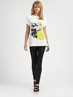 Christopher Kane - Paint Spot Floral Tee