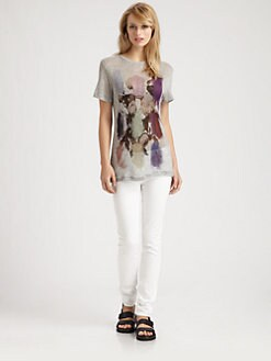 Christopher Kane - Paint Rose Tee