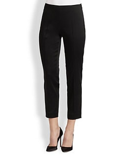 Saks Fifth Avenue Collection - Satin Skinny Ankle Pants