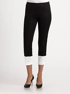 Saks Fifth Avenue Collection - Colorblock Skinny Pants