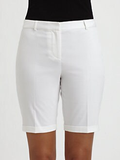 Saks Fifth Avenue Collection - Sateen Bermuda Shorts