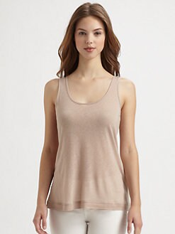 Saks Fifth Avenue Collection - Slub Jersey Tank