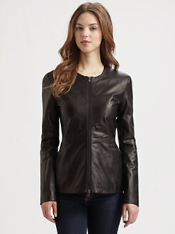Saks Fifth Avenue Collection - Leather Jacket