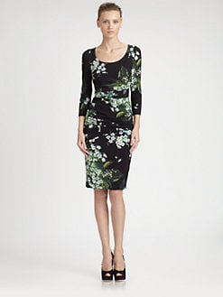 Dolce & Gabbana - Lily Print Dress