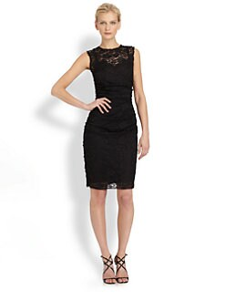 Dolce & Gabbana - Cady & Lace Dress