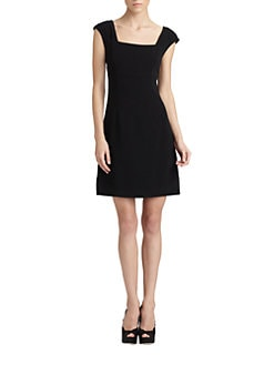 Dolce & Gabbana - Square-Neck Dress