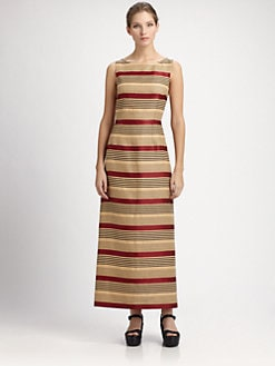 Dolce & Gabbana - Striped Maxi Dress
