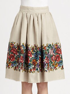 Dolce & Gabbana - Floral Skirt