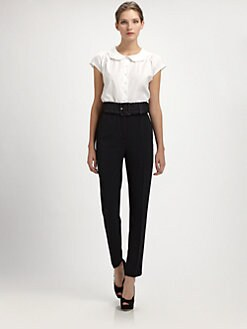 Dolce & Gabbana - Scalloped Collar Blouse