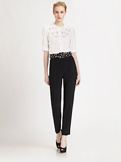 Dolce & Gabbana - Lace Collar Blouse
