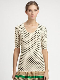 Dolce & Gabbana - Polka Dot Sweater