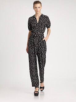 Dolce & Gabbana - Polka Dot Jumpsuit