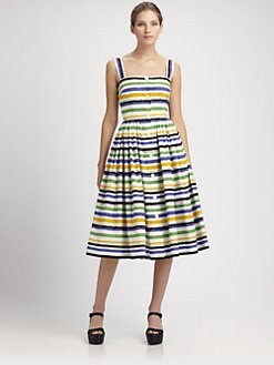 Dolce & Gabbana - Striped Dress