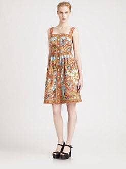 Dolce & Gabbana - Sicily Print Dress