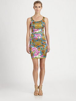 Dolce & Gabbana - Silk Foulard Print Dress