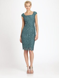 Dolce & Gabbana - Cap-Sleeve Lace Dress
