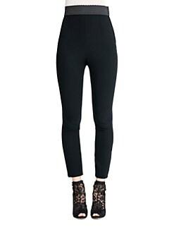 Dolce & Gabbana - Cady Stretch Leggings