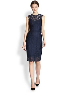 Dolce & Gabbana - Sleeveless Lace Dress