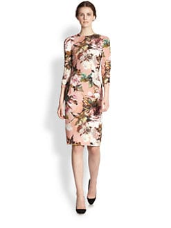 Dolce & Gabbana - Floral-Print Dress