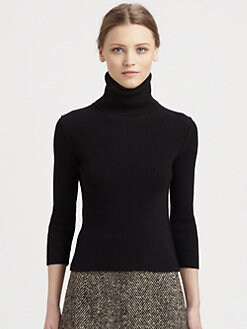 Dolce & Gabbana - Ribbed Cashmere Turtleneck