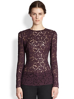 Dolce & Gabbana - Lace Top