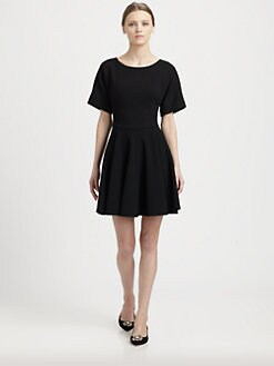 Dolce & Gabbana - Wool Crepe Mini Dress