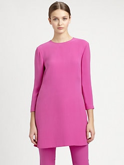 Ralph Lauren Collection - Silk Cady Tunic