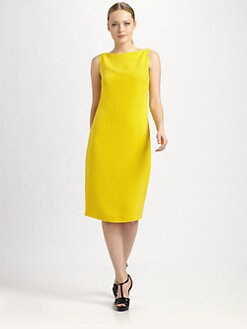 Ralph Lauren Collection - Silk Cady Charisse Dress