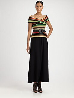 Ralph Lauren Collection - Silk Serape Wrap Top