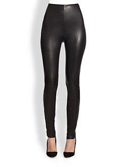 Ralph Lauren Collection - Leland Leather Pants