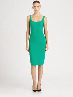 Michael Kors - Seamed Crepe Dress
